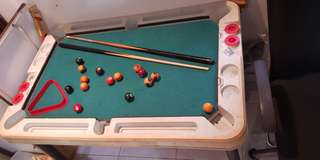 Pool, ping pong and hockey 3 in 1 table for kids