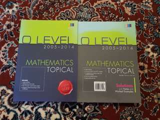O level ten years series with solutions