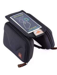Bicycle Handphone Holder  (Hard Cover)