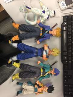 Dragonball MSP figure 龍珠 三隻