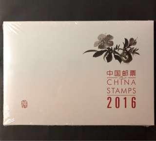 中國郵票2016全年大版