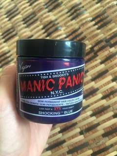 Manic Panic Hair Dye in Shocking Blue