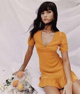 Princess polly yellow dress