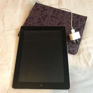 APPLE IPAD - 3rd GEN 16GB - Space Grey free case and charger