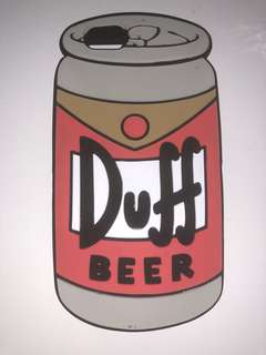 Duff Beer Simpsons Iphone 6 case