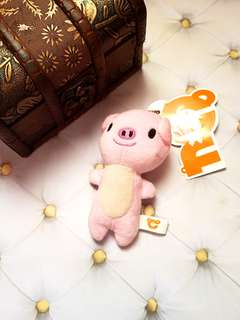 🆕️Cute Piggy Small Plushie Keyring