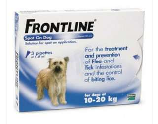 Frontline Spot On - Frontline Plus For Dogs/Cats - Tropiclean Natural Anti-flea/ticks shampoo & spray #petsupplies #maintenance #prevention #furkids