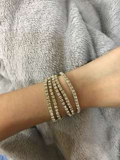 Faux Diamond bracelet