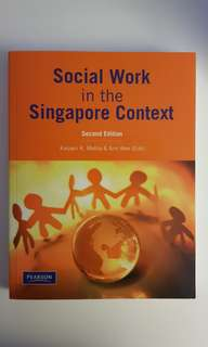 Social Work in the Singapore Context by Kalyani K. Mehta & Ann Wee (2nd Edition)