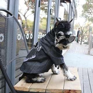 猫日屋 錦鯉刺繡改良式寵物和風外套 / 貓狗都能穿多種尺寸