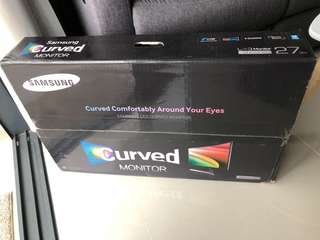 Samsung curved monitor S27D590CS