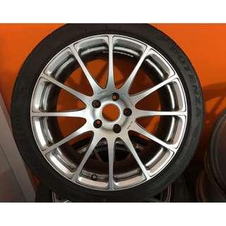 Mitsubishi Evo X Prodrive forged rims