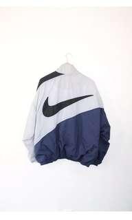 Nike XL Vintage Big Swoosh Windbreaker