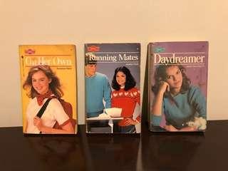 Lot of 3 vintage Sweet Dreams Books