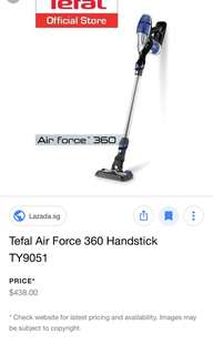 Tefal Air Force 360 For Sale - Brand New