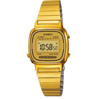 Casio UNISEX Vintage Watch LA670WGA-9DF