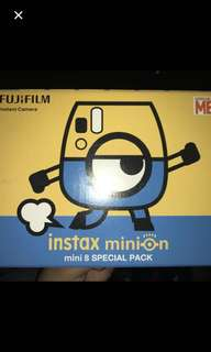 Looking for Instax minions used or new