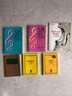 Lot of music MEP books textbooks scores