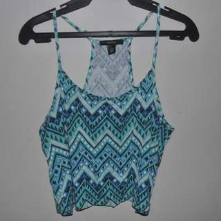 FOREVER21 SUMMER TANK TOP AZTEC