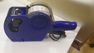 Price tag labeller machine