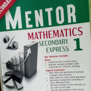 Sec 1 Express Mentor Mathematics
