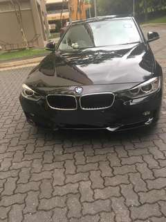 BMW 316i Leasing Out For Long Term Used / 3 to 6 months (COE Till Sep 2024)