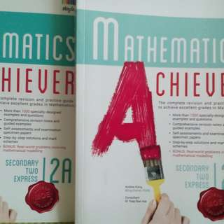 Sec 2 Mathematics Achiever 2A & 2B