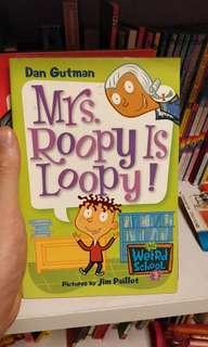 Mrs Roopy is Loopy - Dan Gutman