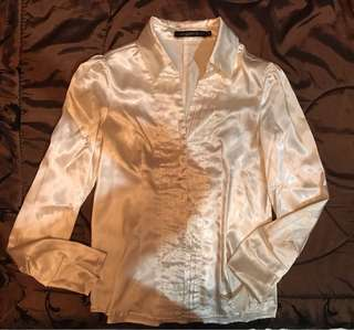 Silk Office Blouse