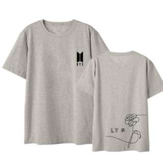T-SHIRT BTS BANGTAN BOYS LOVE YOURSELF XXL
