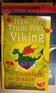 How to Train your Viking - Cressida Cowell