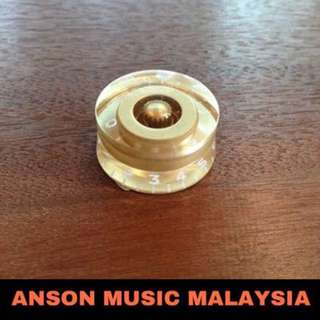 Gibson Style Speed Knob, Gold