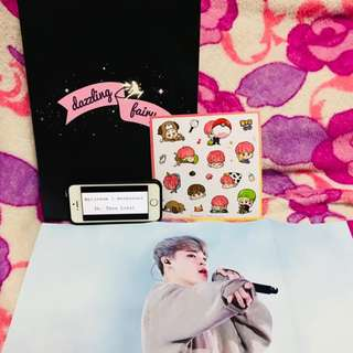 "The LuMINary's 1st Photobook ""DAZZLING FAIRY"" (BTS JIMIN FANSITE PHOTOBOOK)"