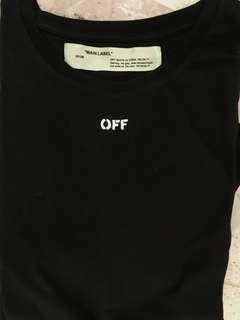 Off white t shirt