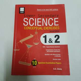 GLM Lower Secondary Sec Science Sci Conceptual Exercises Book