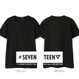 T-SHIRT SEVENTEEN K-POP S