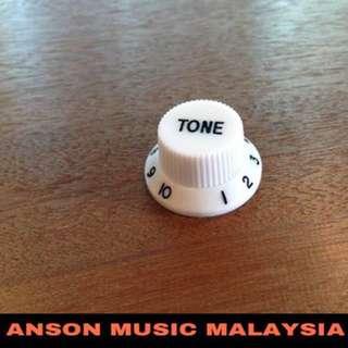 Fender Style Tone Knob, White