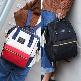 [PO] canvas backpack