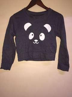 Cute crop top sweater