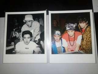 EXO Overdose Polaroids