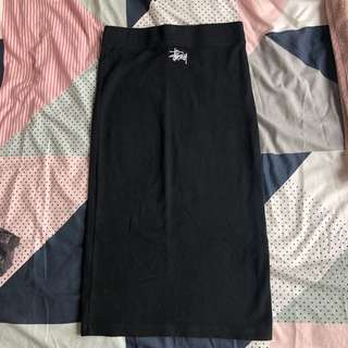 Stussy Tight Black Skirt
