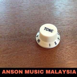 Fender Style Tone Knob, Aged White