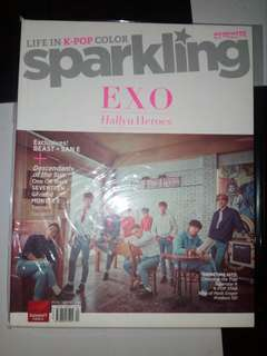 Sparkling Magazine: EXO and Beast Cover