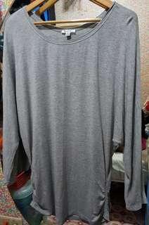 Grey comfy long sleeve