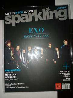 Sparkling Magazine: EXO and Pentagon Cover