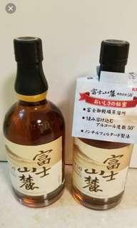 富士山塵原酒50度威士忌700ml,無盒,每支