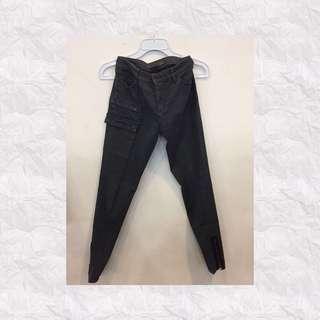 Jeans Cargo Dark Grey