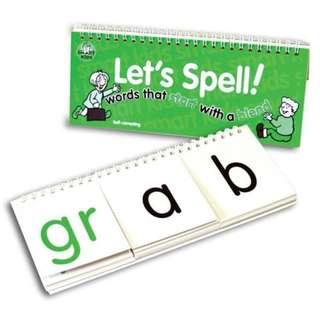 🆕️SMART KIDS - Let's Spell Flip Book (Start with a Blend)