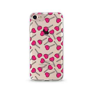 Heart lollipops iphone case (iphone 7)