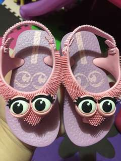Ipanema Fluffy Baby Lilac/Pink Sandals